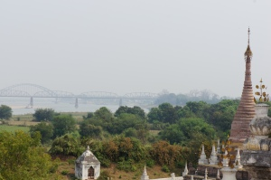 Mandalay Ayerywaddy View from Inwa