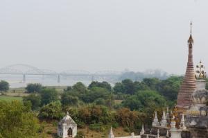 Mandalay Ayerywaddy View from Inwa