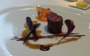 Wagyu, black pudding and carrot
